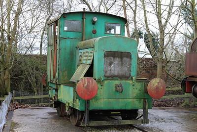 R&H 35302/1951 in the standard gauge sidings - 28/03/15.