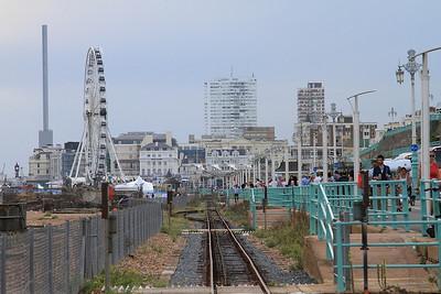 Heading along the Seafront towards Aquarium station - 22/08/15.