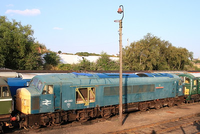 45060 in the yard at Barrow Hill - 17/08/16.