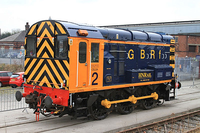 08924, Barrow Hill, looking very smart in GBRF colours - 27/02/16.