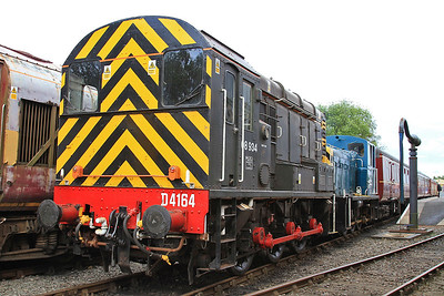 Barrow Hill for 08934, 7th July 2016