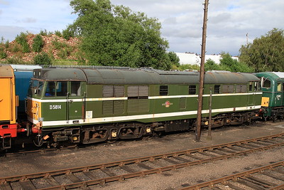 D5814 (31514) in the yard at Barrow Hill - 07/07/16.