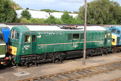 71001 in the yard at Barrow Hill - 07/07/16.
