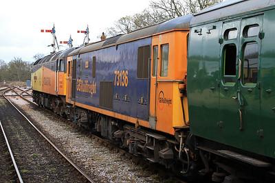 47739 / 73136, Horsted Keynes, 10.15 East Grinstead-Sheffield Park - 16/04/16.