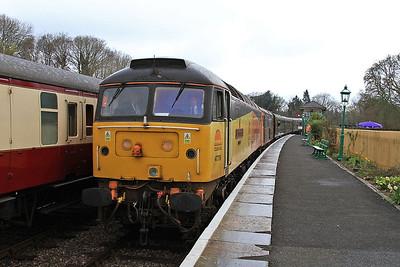 47739 / 73136 arr Kingscote, 10.15 East Grinstead-Sheffield Park - 16/04/16.