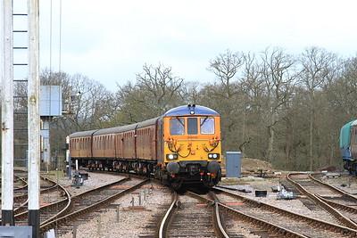 73964 arr Horsted Keynes, 10.30 Sheffield Park-East Grinstead - 16/04/16.
