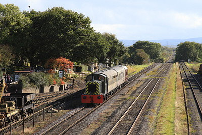 Buckinghamhsire Railway Centre Diesel Gala, 16th October 2016