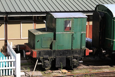 FC Hibberd 3947/1960 in the sidings at Norchard - 03/07/16.