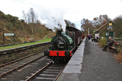 'No.2' (HL 2859/1911), Andrews House, 12.00 to Sunnyside - 24/01/16.