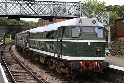 31207 (D5631), Weybourne, 2C05 10.00 Holt-Sheringham - 11/06/16.
