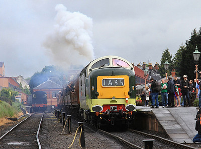 Severn Valley Railway Spring Diesel Festival, 21st May 2016