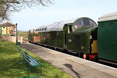 40013, Harmans Cross, 2N04 09.15 Swanage-Norden - 06/05/16.