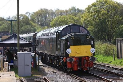 40013, Norden, 2N04 09.15 ex Swanage - 06/05/16.