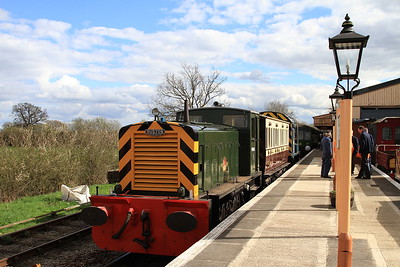 Swindon & Cricklade Diesel Gala, 16th April 2016