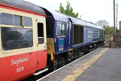 66305, Leyburn, on rear of 10.00 Leeming Bar-Redmire - 28/05/16.