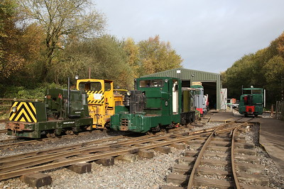 Apedale Valley Light Railway & Heritage Centre, 28th October 2017