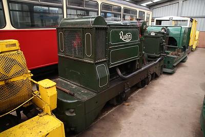 RH 198297/1939 'Annie' (ex-Gloddfa Ganol & Moseley Ind NG Railway), inside Apedale loco shed - 28/10/17