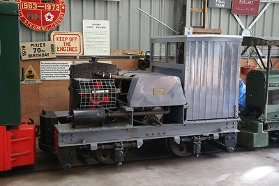 MR 6035/1937, inside Apedale loco shed - 28/10/17