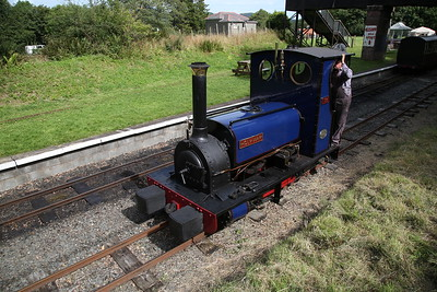 HE 779/1902 'Holy War', Bala, running round - 27/08/17