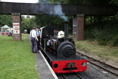 HE 855/1904 'Hugh Napier', Bala, 13.20 to Llanuwchllyn - 27/08/17