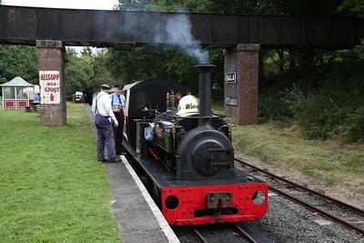 HE 855/1904 'Hugh Napier', Bala, 13.20 to Llanuwchllyn - 27/08/17