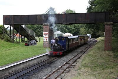 HE 779/1902 'Holy War', Bala, 12.30 to Llanuwchllyn - 27/08/17