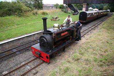 HE 855/1904 'Hugh Napier', Bala, running round - 27/08/17