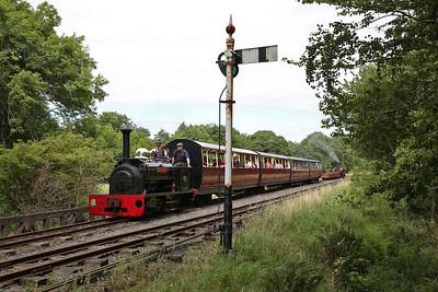 Bala Lake Railway, 'Dinorwic' day, 27th August 2017