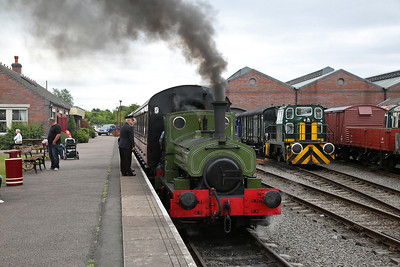 Chasewater Railway, 15th July 2017