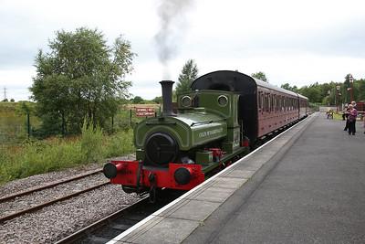 AB 1223/1911 'Colin McAndrew', Chasewater Heaths, 13.30 Brownhills West-Chasetown - 15/07/17