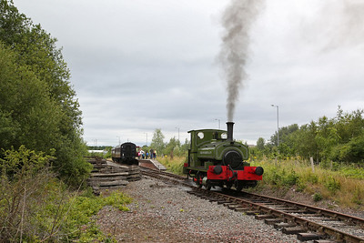 AB 1223/1911 'Colin McAndrew', Chasetown, Running Round - 15/07/17