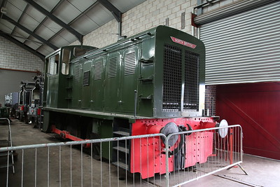 NB 27876/1959 'D2911', on display in the museum at Brownhills West - 15/07/17