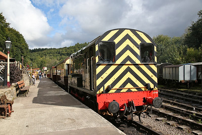 08769, Norchard Low Level, 11.30 to Lydney Jctn. - 16/09/17