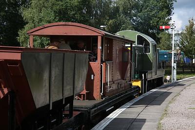 D9521, Lydney Jctn, 11.45 Freight (Rideable) to Parkend - 16/09/17