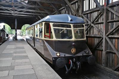 GWR Railcar W22, 'Burlescombe', 'Branch Line' shuttle - 23/09/17