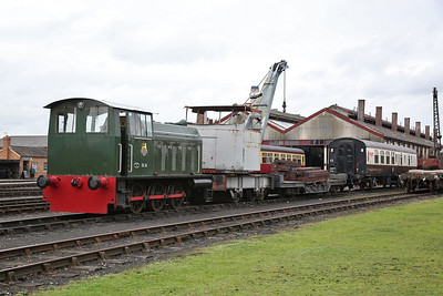 DL26 (HE 5238/1962) on display on the shed yard - 23/09/17
