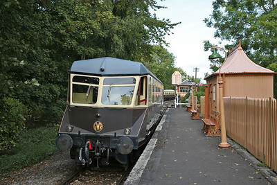GWR Railcar W22, 'Didcot Halt', 'Branch Line' shuttle - 23/09/17