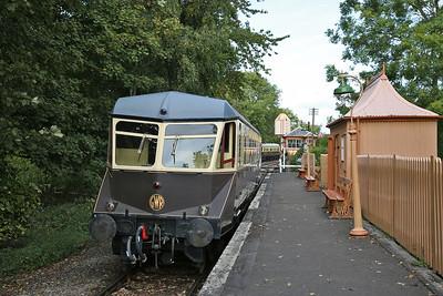 GWR Railcar W22, 'Didcot Halt', 'Branch Line' shuttle - 23/09/17