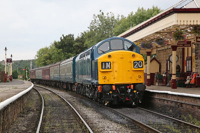 East Lancs Railway, 40135 out, 3rd September 2017