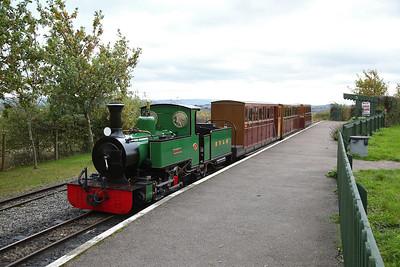 ESR 312/2003 'St. Egwin', Evesham Vale, 14.40 to Twyford - 28/10/17