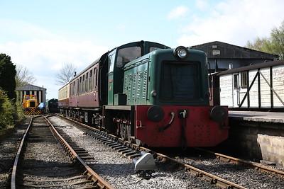 Foxfield Railway, 15th April 2017