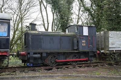 WD 820 (EEDK 1188/1941), Dilhorne Park yard - 15/04/17