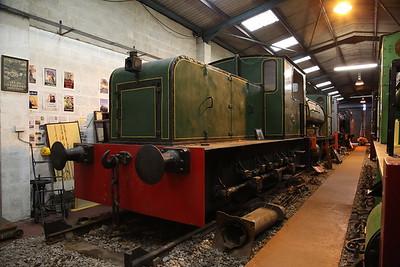 KS 4421/1929 (ex-NCB), on display in the museum, Dilhorne Park - 15/04/17