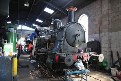 'Bellerophon' (Haydock Foundry 1874, ex-NCB Lea Green, Lancs), Dilhorne Park shed - 15/04/17