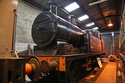 North Staffordshire Railway No.2, on display in the museum, Dilhorne Park - 15/04/17