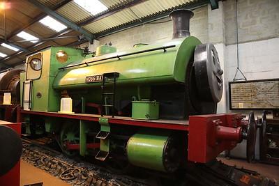 'Moss Bay' (KS 4167/1920, ex-SEGB Croydon & Aston Tram Depot), on display in the museum, Dilhorne Park - 15/04/17