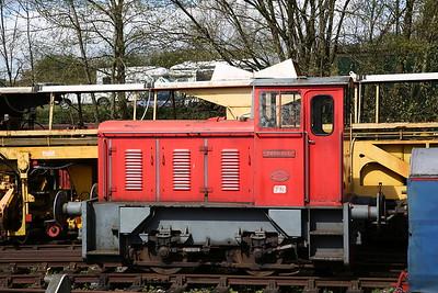 'Bagnall' (WB 3207/1962 ex-Ley's, Derby), Dilhorne Park yard - 15/04/17