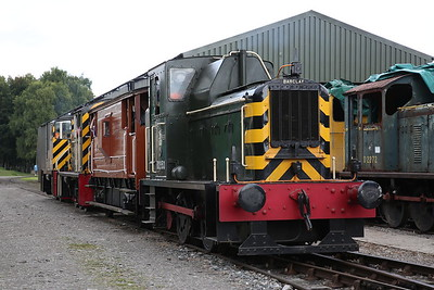 D2953 / D2337 / D2854 on the BV shuttle at the HST shed - 02/09/17
