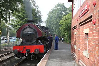 WB 2996/1951 'Victor', Lakeside, 16.50 to Haverthwaite - 29/07/17