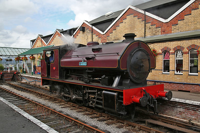 WB 2996/1951 'Victor', Lakeside, running round - 29/07/17